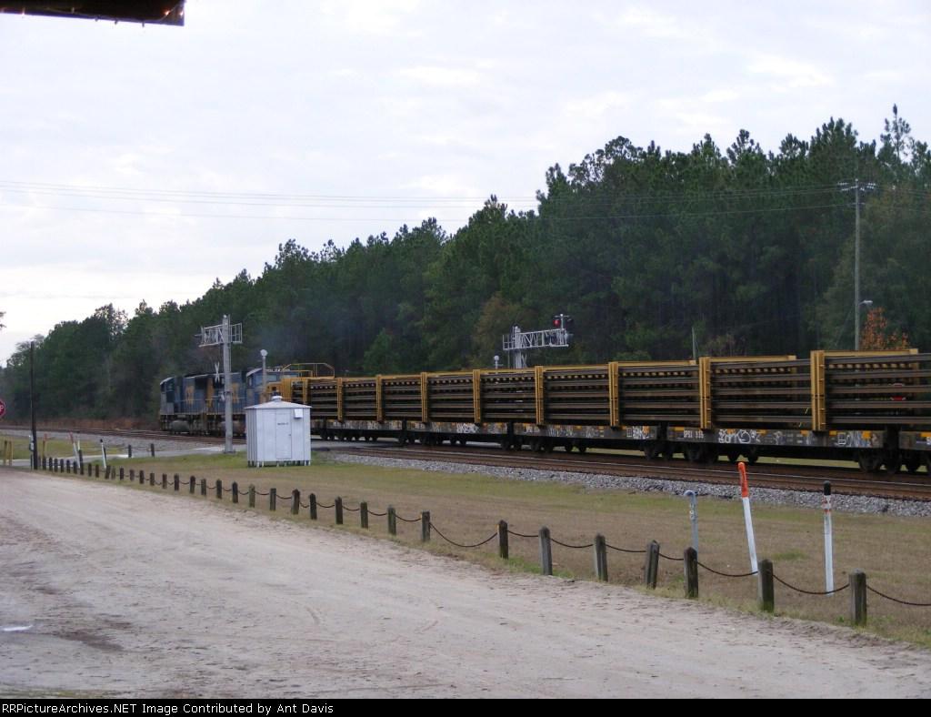 Rails on the Rail Train