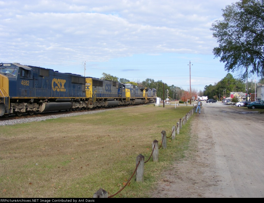 All the power behind CSX 7622
