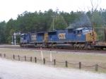 Rail Train thru Folkston