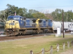 CSX 7834 & 7877 pull a long mixed train