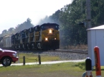 CSX 355 thru Folkston & Crew Greets us over Scanner!