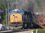 CSX 4786 leads a coal train