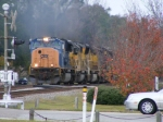 Here comes CSX 4750 with the mega power! 12 Locomotives!