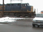 2 CSX ES44DC's