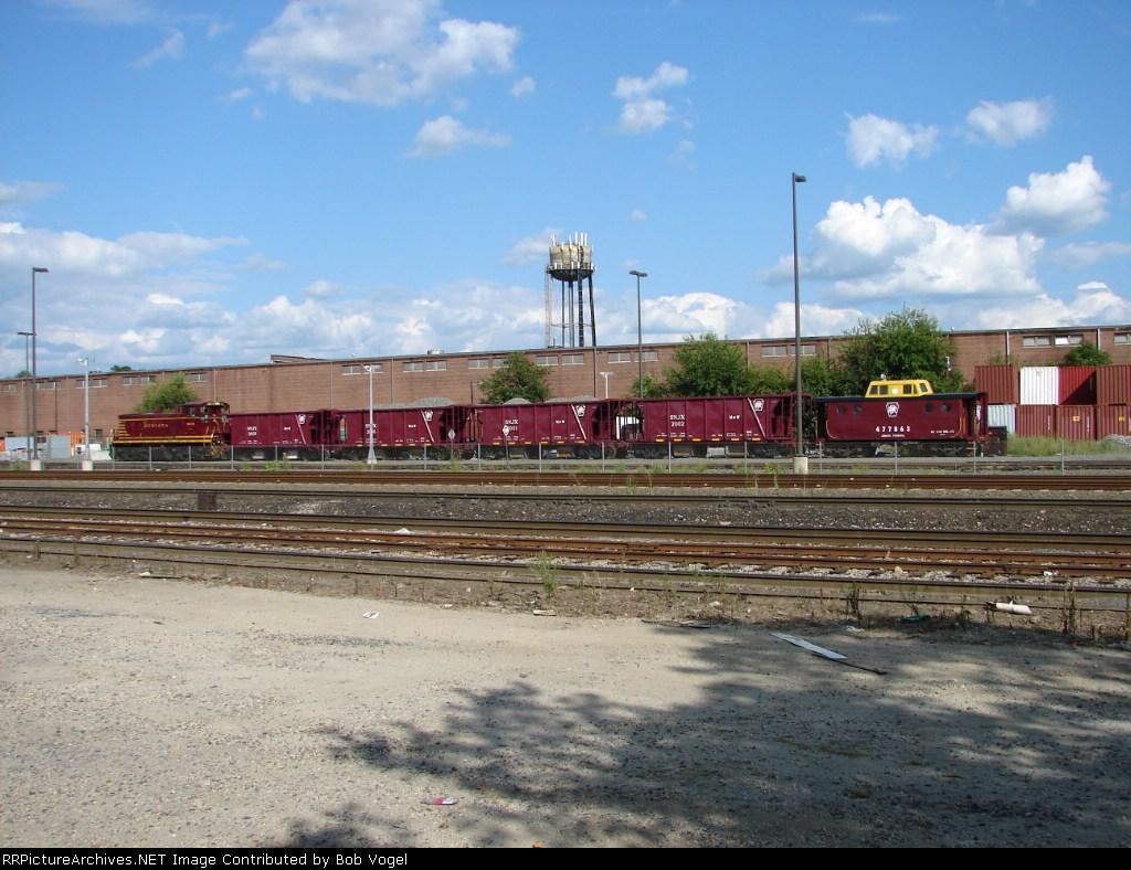 River LINE ballast train