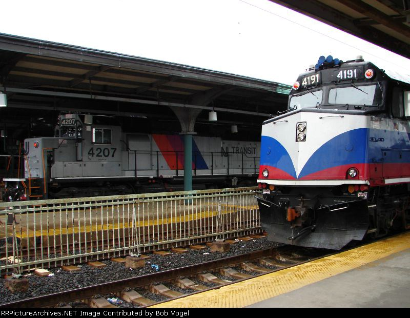 NJT 4207 and MNCR 4191