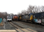 CSX 506 and NJT 3505