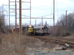 NJT 5023 and CSX 1543