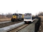 NJT 3507 and CSX 8418