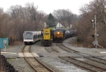 NJT 3519; CSX 8824 and 5117