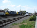 NJT 3517 and CSX 8815