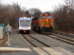 NJT 3503 and BNSF 4040