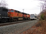BNSF 4074 and NJT 3501