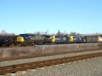 CSX 684, 8104, and 4451