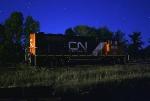 CN 9618 on Saukville turn at DBR Jct.