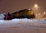 UP train EMPRA prepares to leave