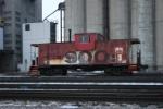 Soo Line caboose #91 at Menomonee Yard