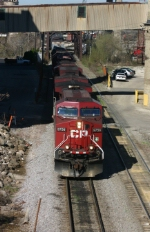 CP 9756 at the east end of Menomonee Yard