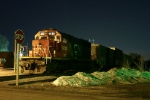 5:09 A.M. finds CN 6123 parked at Church Ave