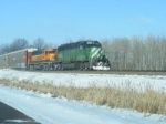 BNSF 8038 and BNSF 6965