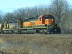 BNSF 8018 and BNSF 6361