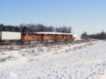 BNSF 7236-7239...All in a row!