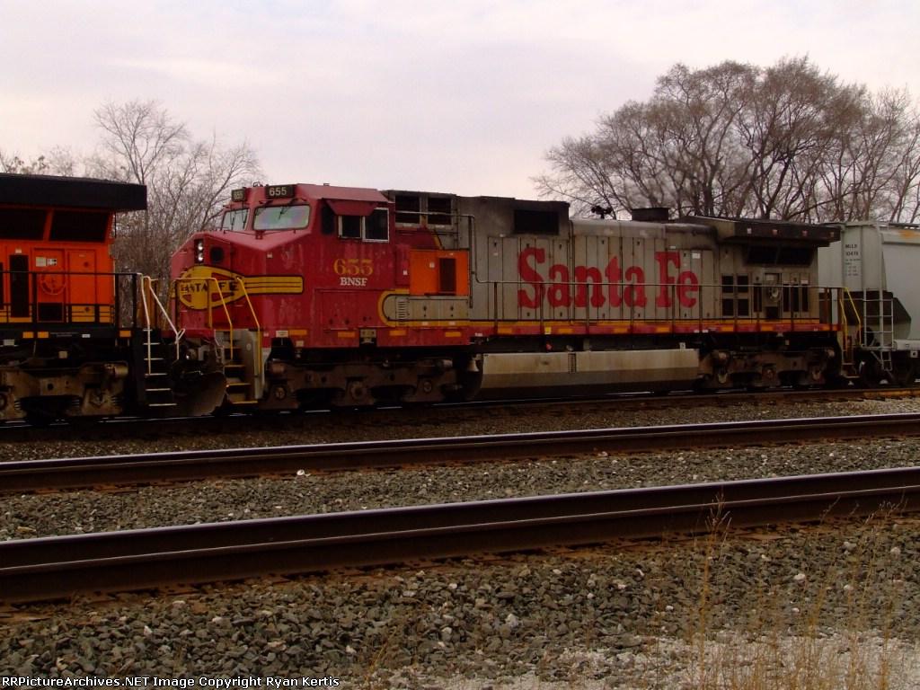 BNSF 655
