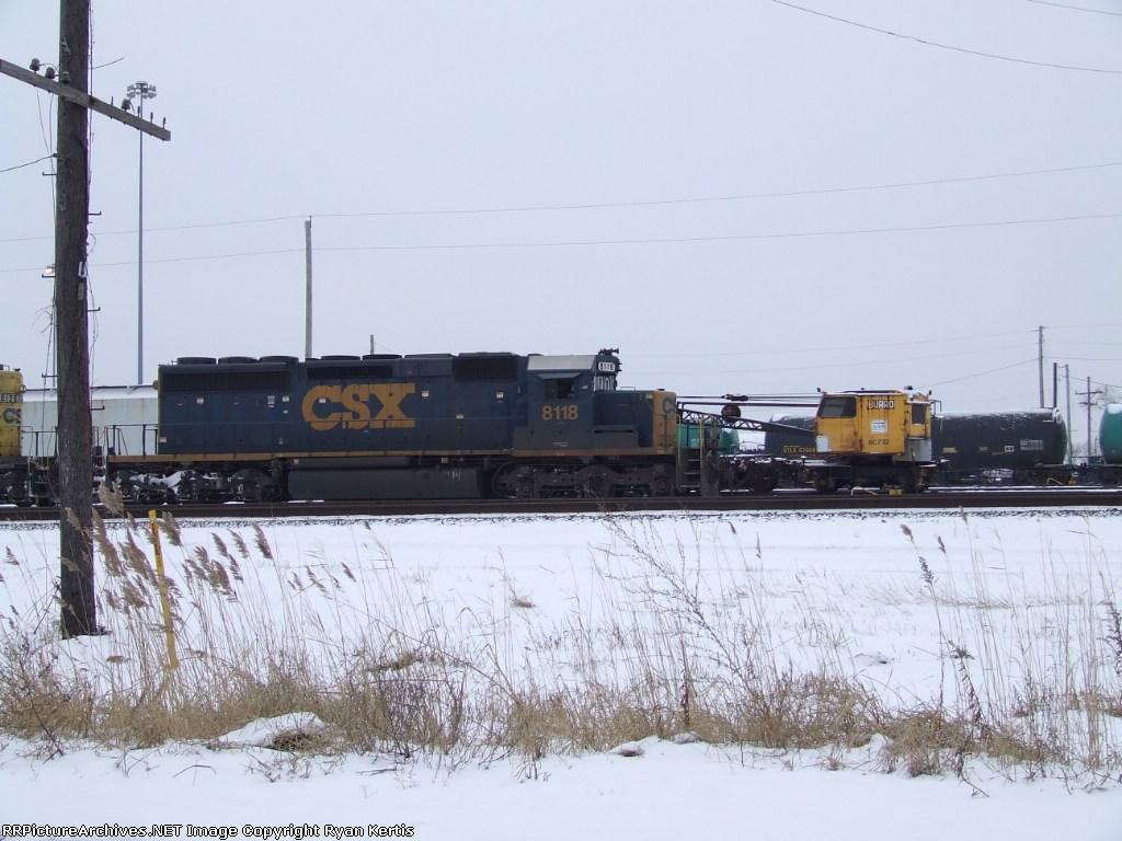 CSX 8118