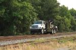 Hi Rail Crane