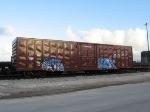 BNSF 781276 sits on the west siding in FEC's yard