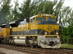 FEC train 202 pulled North by 102 and 713