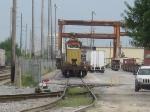 South gate to the FEC intermodal terminal