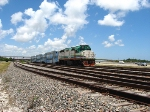 Tri-Rail P667 running southbound between Fort Lauderdale and FLL Stations