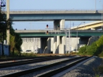 Tri-Rail P670, Engine 802 has a clear signal, distant to Whalen, Track-2 Northbound