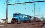 Conrail GEs under the wires