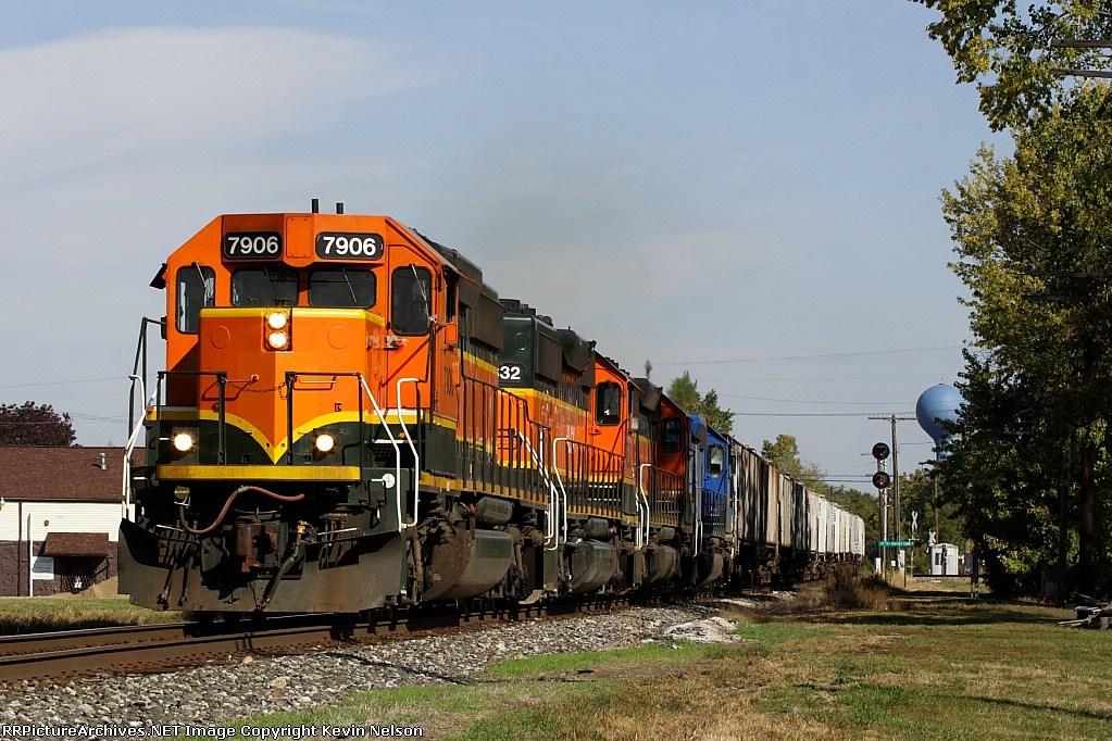 HLCX 7906 SD40-2