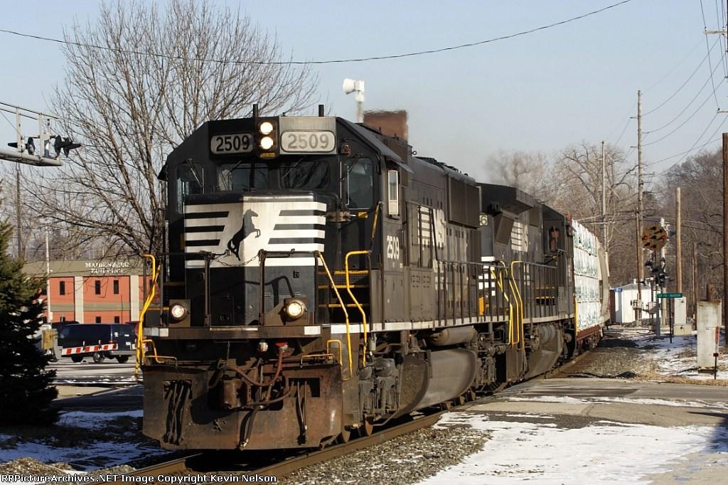 NS 2509 SD70