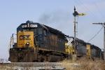 CSX 8457 SD40-2