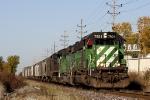 HLCX 7921 SD40-2