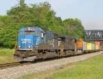 214 with a CR SD70 leading an NS and a BNSF
