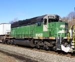 Whiteface BNSF SD40-2 on 20K