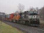 24V with BNSF SD75M trailing