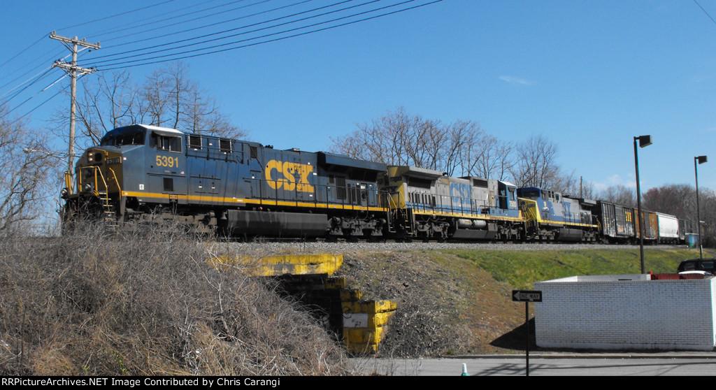 CSX 5391 on Q409-28