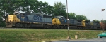 CSX 6151 now classed GP38-2S leads Q405 west