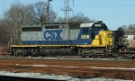 CSX 8818 is coupled to an RC sled