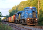 CSX 7334 W892 Military Train