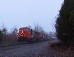 CN 5791 CSX Train Q418