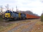 CSX 8081 Q706 Empty Trash