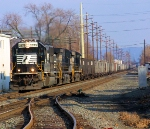 NS 2575 Train 509 Coal Empties
