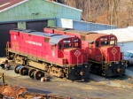 Morristown & Erie Alco C424 #18 & #19